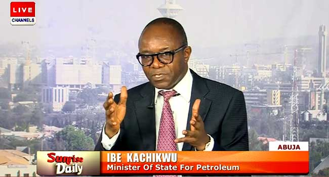 Ibe kachikwu, palliatives, petrol price