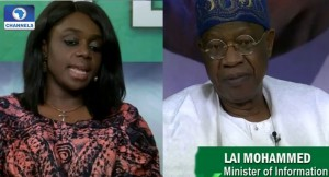 Kemi-Adeosun-and-Lai-Mohammed on campaign promises