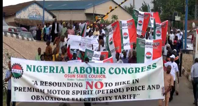 NLC Strike Deepens In Abuja As It Enters Day Two