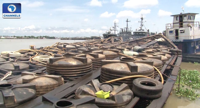 Navy Intercepts Boats Carrying Suspected Refined Automotive Gas Oil