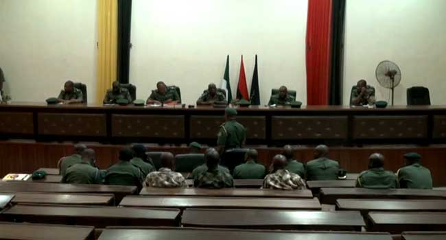 Six Nigerian Army Officers Face Court Martial In Ibadan