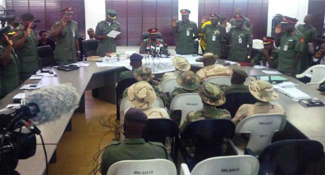 Military Court-Martial Warns Against Avoidable Adjournments