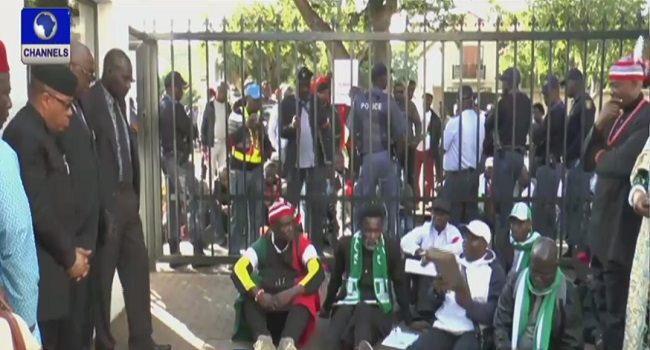 Igbos In South Africa Protest Alleged Killing By Herdsmen