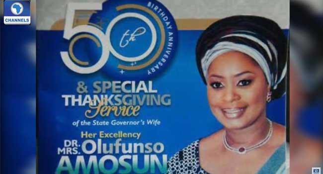 Ogun First Lady, Olufunsho Amosun Marks 50th Birthday
