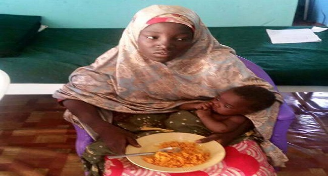 Rescued Chibok Girl, Others Arrives Borno State Government House