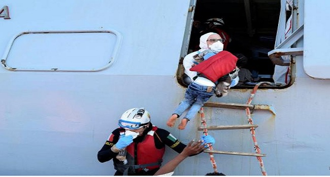 Italy Rescues Nearly 1,800 Migrants In Mediterranean