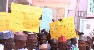Adamawa Health Workers Protest Unpaid Salaries