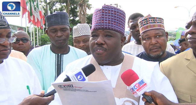 PDP Crisis: Reconciliation Committee Presents Recommendations To Sheriff