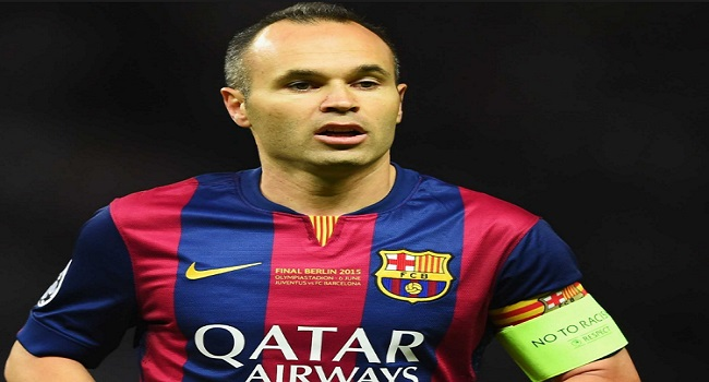 Chinese Club Threatens Legal Action Over Iniesta Speculation