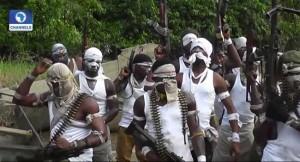 Niger delta, militants