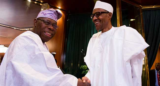 Buhari Celebrates Obasanjo Ahead Of 83rd Birthday