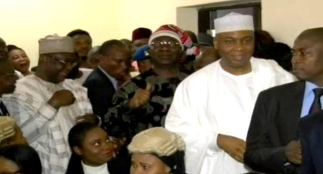 Saraki, Ekweremadu Plead Not Guilty To Alleged Senate Rules Forgery Charges