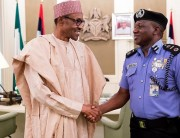President Buhari and IGP Idirs