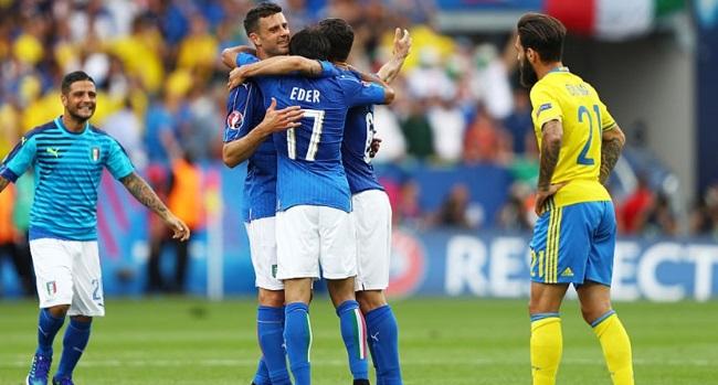 Italy-Sweden, Euro 2016