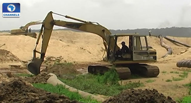 NSCDC Arrests Two At Illegal Mine Site In Kwara