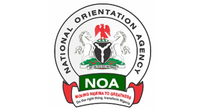 Image result for National Orientation Agency of Nigeria