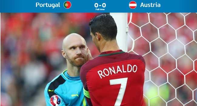 Euro 2016: Ronaldo Misses Penalty As Portugal Plays Goalless Again