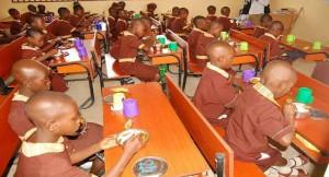 School pupils feeding initiative