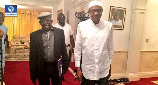 President Buhari Hosts Tinubu, Awujale In London