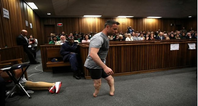 Pistorius Gets Six Years Jail Term For Girlfriend's Murder