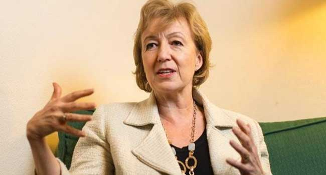 Andrea Leadsom Bows Out Of British PM Race