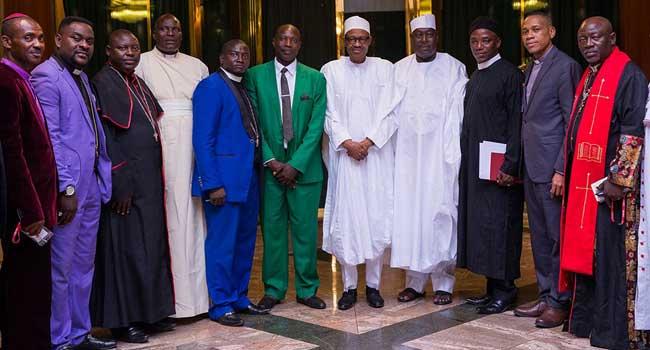 Buhari-Northern-Christian-Leaders