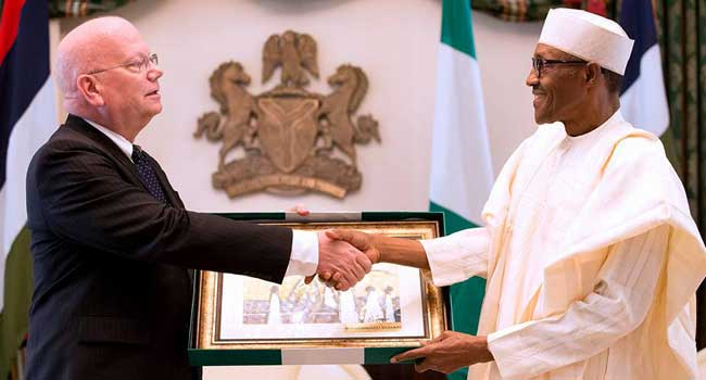 Buhari Commends U.S' Role In Deepening Nigeria's Democracy