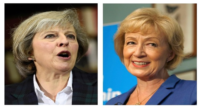 May, Leadsom Lead Race To Become Next Prime Minister