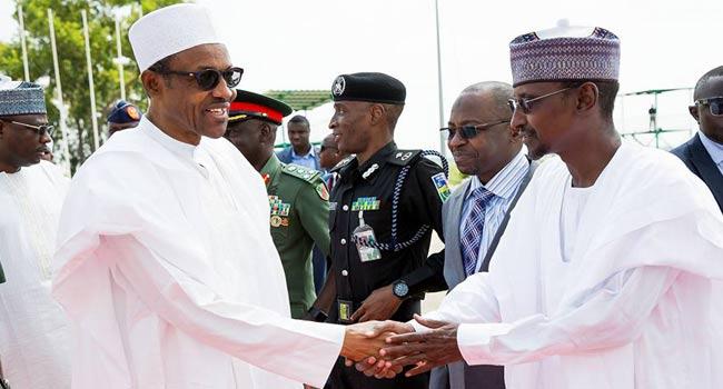 Buhari Visits Home Town, Duara