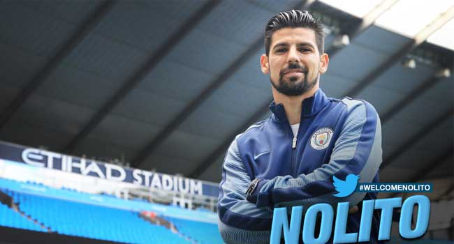 Manchester City Complete Nolito Signing