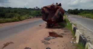 Looming Danger On Sagamu-Benin Road