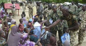 Troops Rescue 38 Women And 42 Children