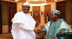 Alafin of Oyo and Muhammadu Buhari on Niger Delta Avenger militancy and Insurgency in north east
