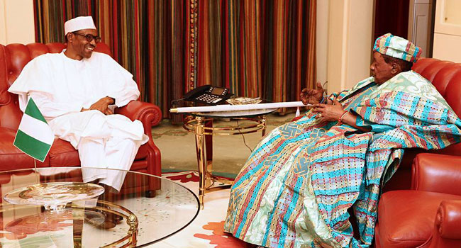 Buhari, Alafin Of Oyo Discuss Militancy In Niger Delta, Insurgency