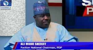 Ali Modu Sheriff of the Peoples Democratic Party PDP