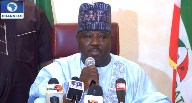 Sheriff Responds To PDP's Decision To Hold Convention