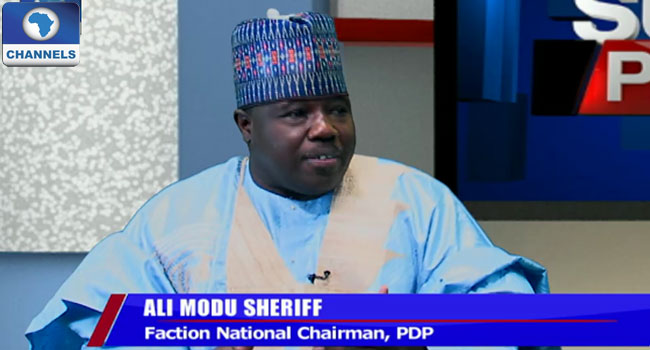 PDP Leadership Crisis: I Will Fight To The End, Ali Sheriff Says