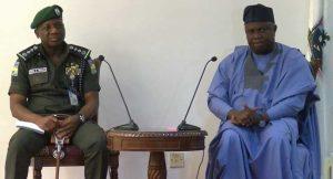 Akinwunmi Ambode, Ibrahim Idris, Police