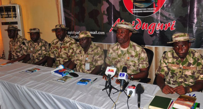 Army Inaugurates Another General Court Martial In Maiduguri