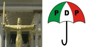 Court on PDP National Convention