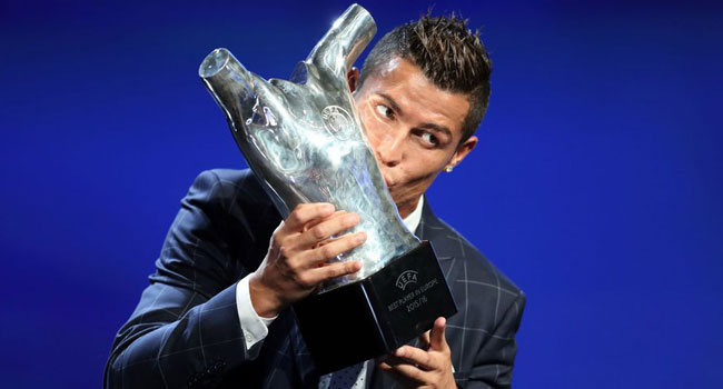 Cristiano Ronaldo Is UEFA Best Player In Europe