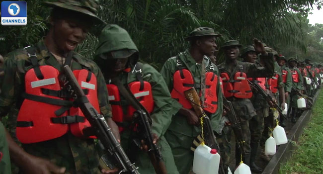 Niger Delta Ceasefire: Military Warns It Will Respond To Any Attack On Its Location