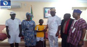 Denis Adeleye and Ayodele Fayose