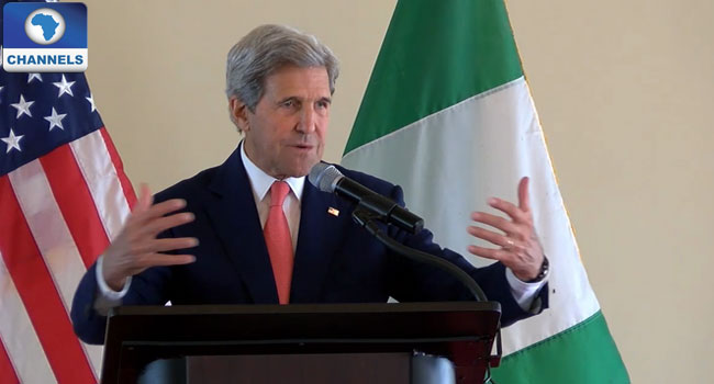 Full Text Of U.S. Secretary Of State John Kerry's Speech In Sokoto