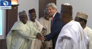 John Kerry and northern Nigeria governors meeting