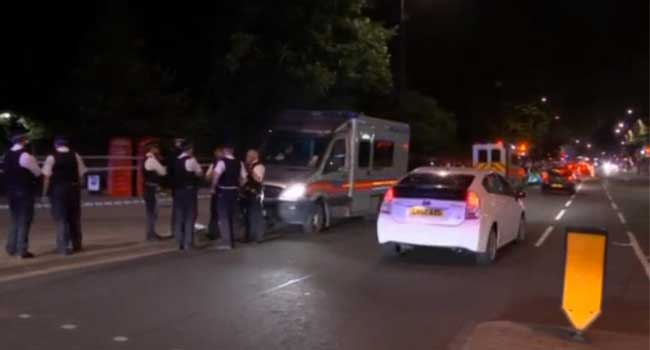 London, Knife Attack