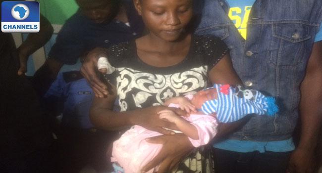 Mother of stolen baby
