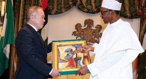 Muhammadu Buhari and Hoang Ngoc Ho on Agriculture development