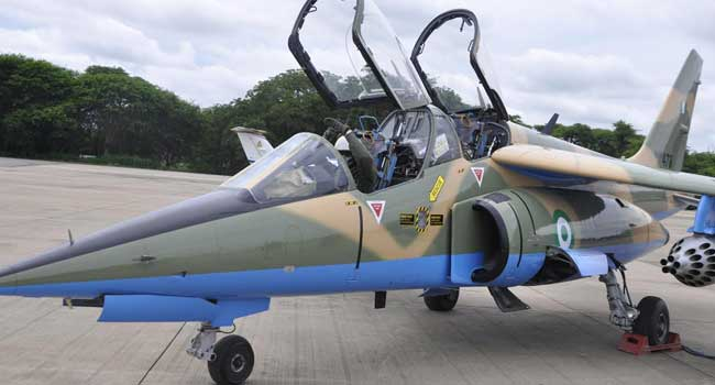 Nigerian Air Force Weaponises Third Alpha Jet