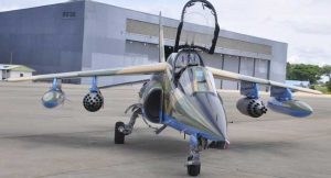 Nigerian Air Force Weaponises Alpha Jet